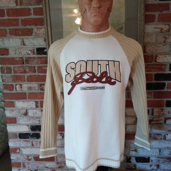 South Pole Other - 90's Vintage Embroidered Men's South Pole Sweater